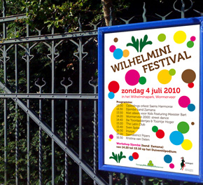 affiche Wilhelminifestival