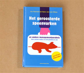 Het geroosterde speenvarken